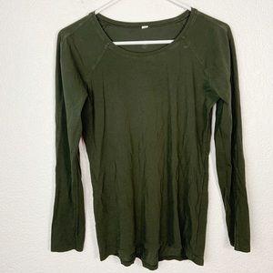 Lululemon Green Long Sleeve Tee S/M
